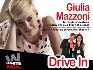 Giulia Mazzoni a White Radio! Direzione Drive In