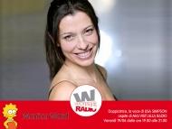 Monica Ward Ospite di Mai Visti Alla Radio