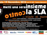 Metti Una Sera Insieme Contro La SLA! Anche per il 2016 siamo Radio ufficiale!
