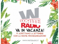 White Radio Goes To Holiday!