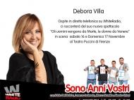Debora Villa racconta le differenze tra Uomini e Donne su White Radio!