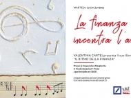 Il Ritmo Della Finanza, la presentazione del libro con l'autrice Valentina Cartei