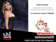 Arianna David Ospite di Lorenzo Amatulli in Whiteissimo