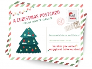 A CHRISTMAS POSTCARD FROM WHITE RADIO