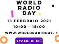 Sabato 13 Febbraio WORLD RADIO DAY