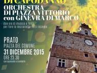 Replay Capodanno 2016! On Line il Podcast del Concertone con Ginevra Di Marco & Orchestra di Piazza Vittorio